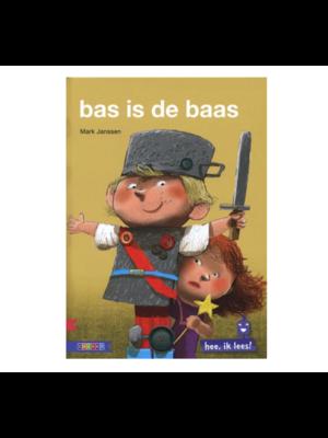 Zwijsen Boek - Bas is de baas - AVI-start