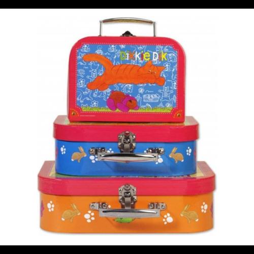 Simply for kids Kofferset - Dikkie Dik - 3dlg.