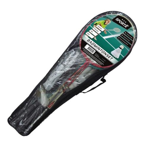 Badminton set - Voor 4 personen - Incl. net & toebehoren