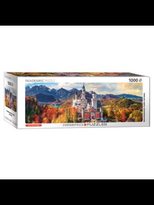 Eurographics Puzzel - Kasteel Neuschwanstein - Panorama - 1000st.