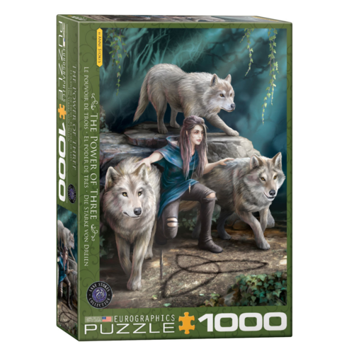 Eurographics Puzzel - Familie Wolf - 1000st.