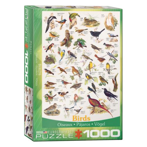 Eurographics Puzzel - Vogels - 1000st.