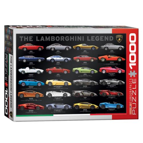 Eurographics Puzzel - De Lamborghini legende - 1000st.