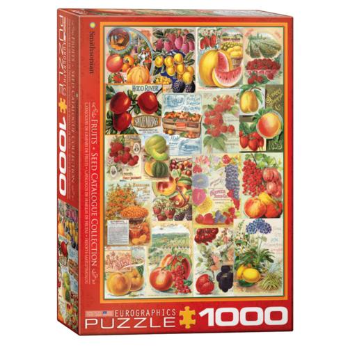 Eurographics Puzzel - Fruit zaadcatalogus - 1000st.