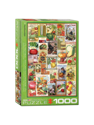 Eurographics Puzzel - Groente zaadcatalogus - 1000st.