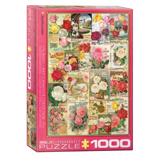 Eurographics Puzzel - Rozen zaadcatalogus - 1000st.