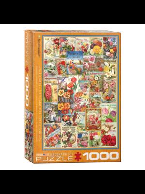 Eurographics Puzzel - Bloemen zaadcatalogus - 1000st.