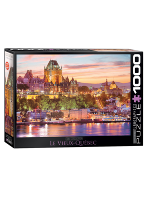 Eurographics Puzzel - Het oude Quebec - 1000st.