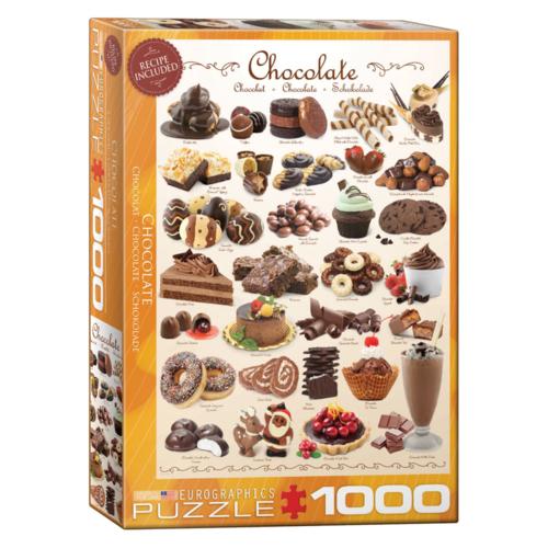 Eurographics Puzzel - Chocolade - 1000st.