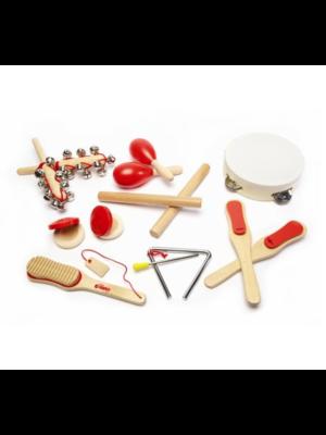 Tidlo Muziekinstrumenten - Hout - 14dlg.