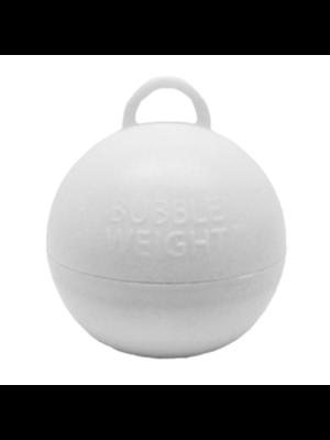 Witbaard Ballongewicht - Bubble - Wit - 35 Gram - 1st.