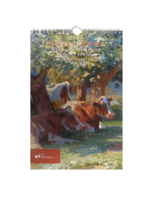 Art Revisited Verjaardagskalender - Dutch cows