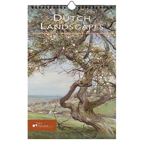 Art Revisited Verjaardagskalender - Dutch landscapes