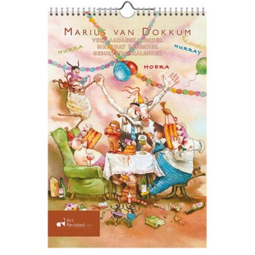 Art Revisited Verjaardagskalender - Marius van Dokkum - Opa Jan