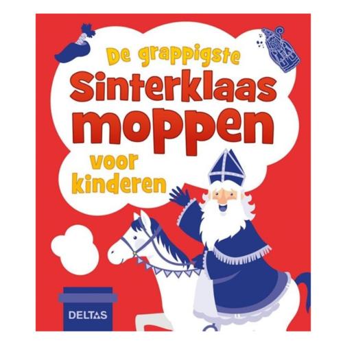 Deltas Boek - De grappigste Sinterklaasmoppen voor kinderen
