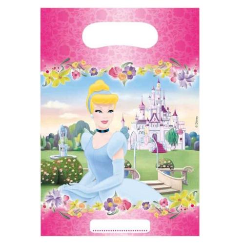 Disney Uitdeelzakjes - Prinsessen - 6st.