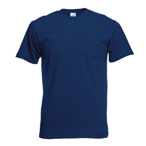 Fruit of the Loom T-shirt - Classic valueweight - Blauw - XL