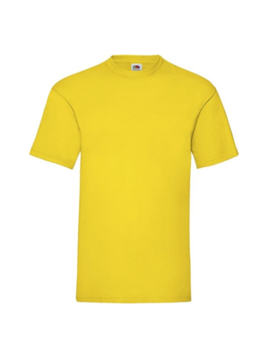 Fruit of the Loom T-shirt - Classic valueweight - Geel - L
