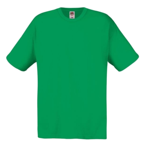 Fruit of the Loom T-shirt - Classic valueweight - Groen - mt.140