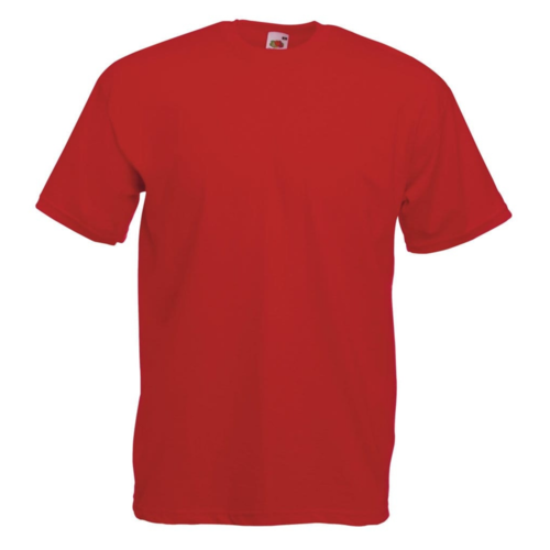Fruit of the Loom T-shirt - Lady fit - Rood - L