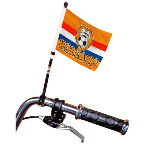Folat Fietsvlag - Holland - Oranje leeuw - 20x15cm