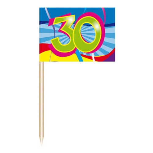 Folat Prikkertjes - 30 Jaar - 50st.