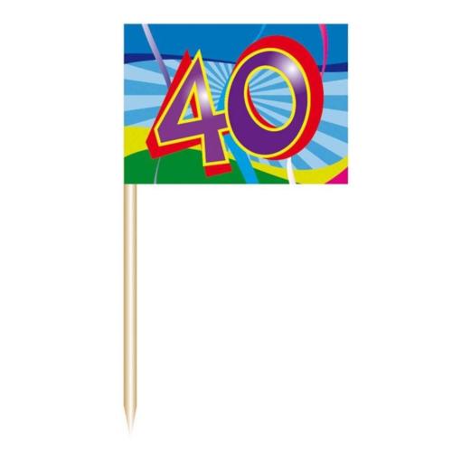 Folat Prikkertjes - 40 Jaar - 50st.