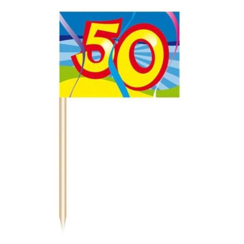 Folat Prikkertjes - 50 Jaar - 50st.