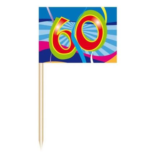 Folat Prikkertjes - 60 Jaar - 50st.