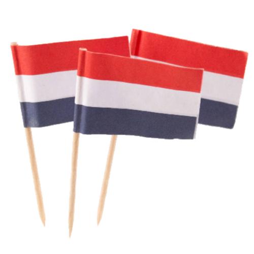 Folat Prikkertjes - Nederlandse vlag - RWB - 50st.