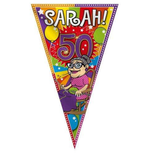 Folat Puntvlag - Sarah - 90x150cm