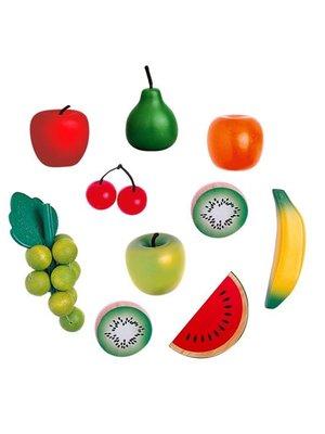Santoys Speelgoedeten - Fruit - In net - 10dlg.