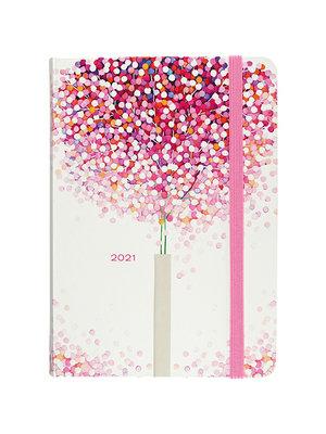 Peter Pauper Agenda - Compact - 16 maanden - Lollipop tree - 12,7x17,8cm - 2021