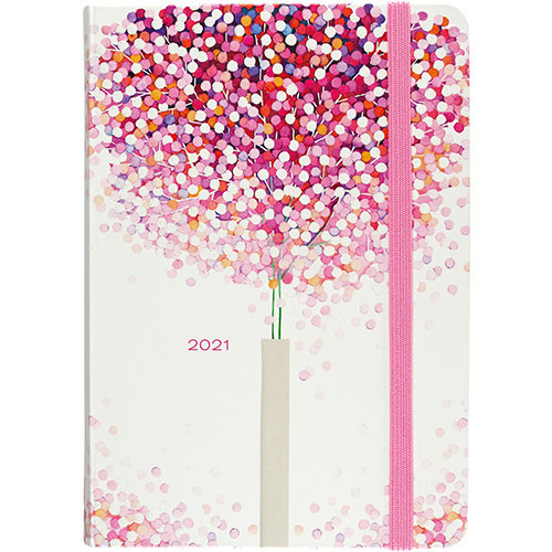 Agenda - Compact - 16 maanden - Lollipop tree - 12,7x17,8cm - 2021