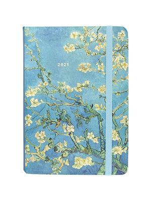 Agenda - Compact - 16 maanden - Almond blossoms - 12,7x17,8cm - 2021