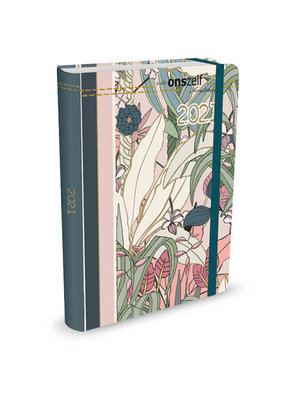 Agenda - Compact - 16 maanden - Flora - 12,7x17,8cm - 2021