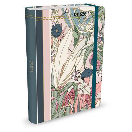 Peter Pauper Agenda - Compact - 16 maanden - Flora - 12,7x17,8cm - 2021
