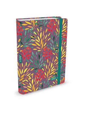 Agenda - Compact - 16 maanden - Twigs - 12,7x17,8cm - 2021