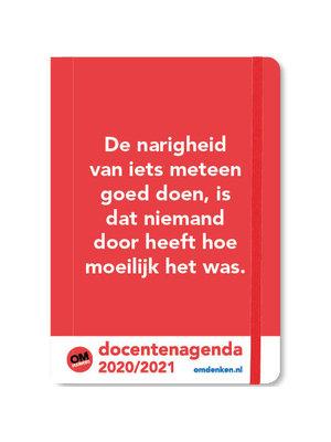 Comello Agenda - Docentenagenda - Omdenken - A5 - 14,8x21cm - 2021