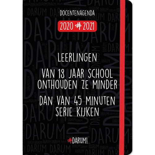Comello Agenda - Docentenagenda - Darum! - A5 - 14,8x21cm - 2021
