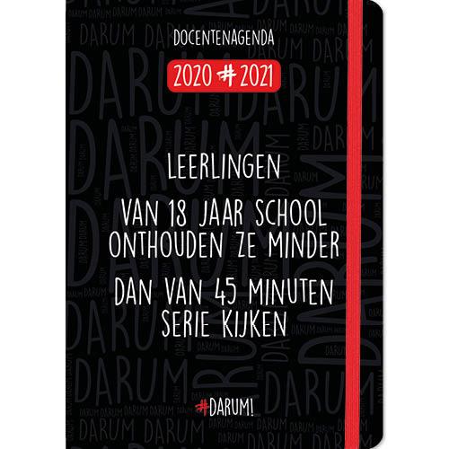 Agenda - 2021 - Docentenagenda - Darum! - A5 - 14,8x21cm