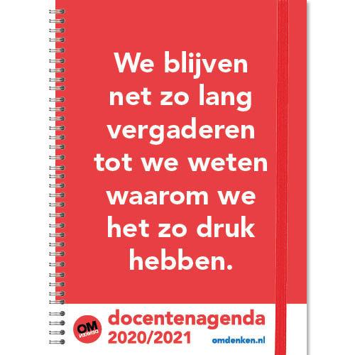 Comello Agenda - Docentenagenda - Omdenken - A4 - 21x29,7cm - 2021