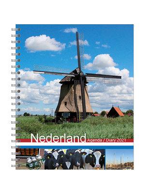 Comello Agenda - Holland - Met spiraal - 17,5x21,5cm - 2021