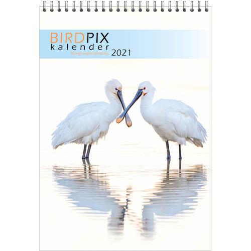 Comello Kalender - Maandkalender - Birdpix - Vogels - 23,5x33,5cm - 2021