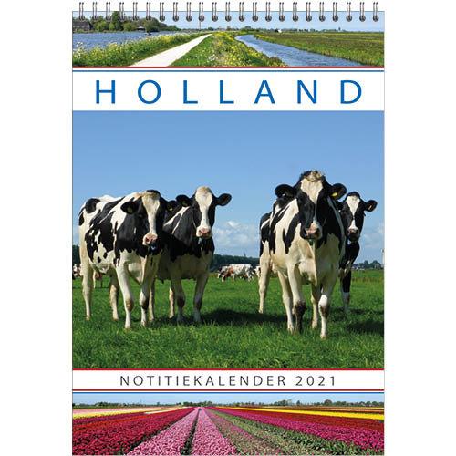 Comello Kalender - Maandkalender - Holland - 23,5x33,5cm - 2021