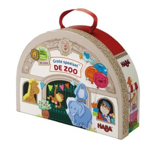 Haba Grote speelset - De Zoo - Dierentuin