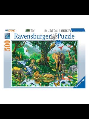 Ravensburger Puzzel - Jungle harmony - 500st.