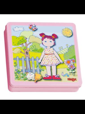 Haba Magneetspel - Aankleedpop - Lilli - 3+