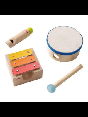 Haba Muziekinstrumenten - Kleine klankendoos - 4dlg.*