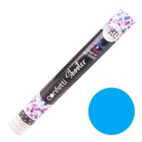 Confettikanon - Gender reveal - Blauw